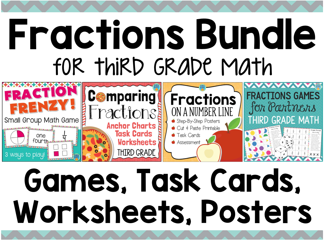 Fractions Games and Activities Bundle