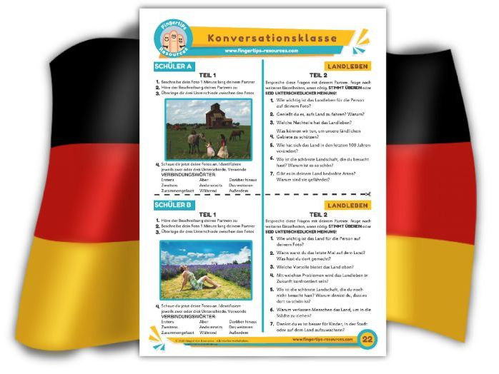 Landleben - German Speaking Activity