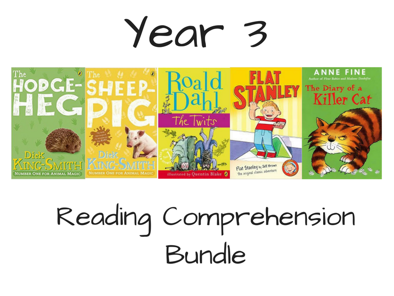 Year 3 Reading Comprehension Bundle