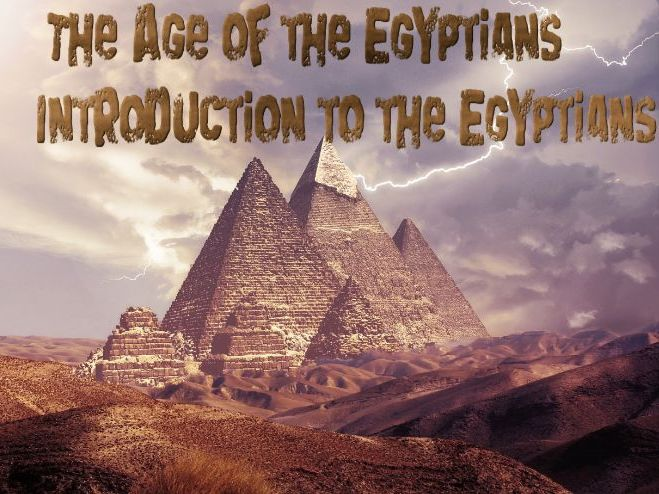 The Egyptians For Kids Audiobook & Activity