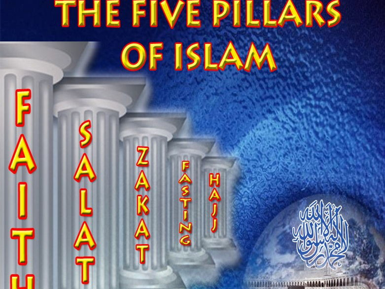 (8.1) Islam: The Five Pillars, the Ten Obligatory Acts and the Shahadah - 41 slides