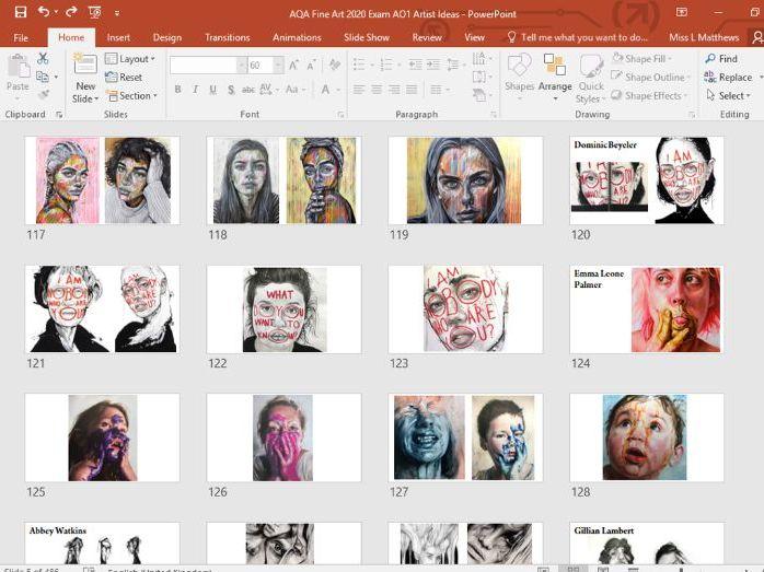 AQA GCSE Exam 2020 Art and Design, Fine Art