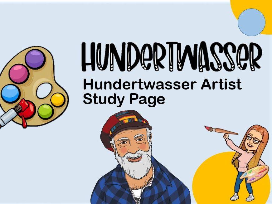 Task 2 Hundertwasser Artist Research Page