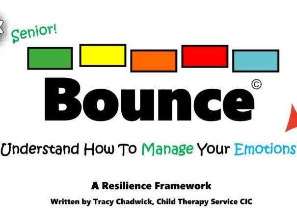 Bounce Back:  Managing Emotions Toolkit - Schools (11-14yrs)