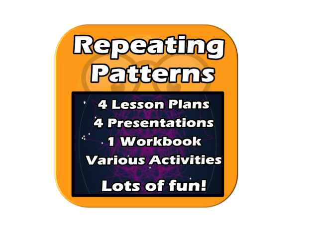 Repeating Patterns - 4 Lesson Computer-Based Unit - Complete, Practical, Fun. For Primary/Elementary