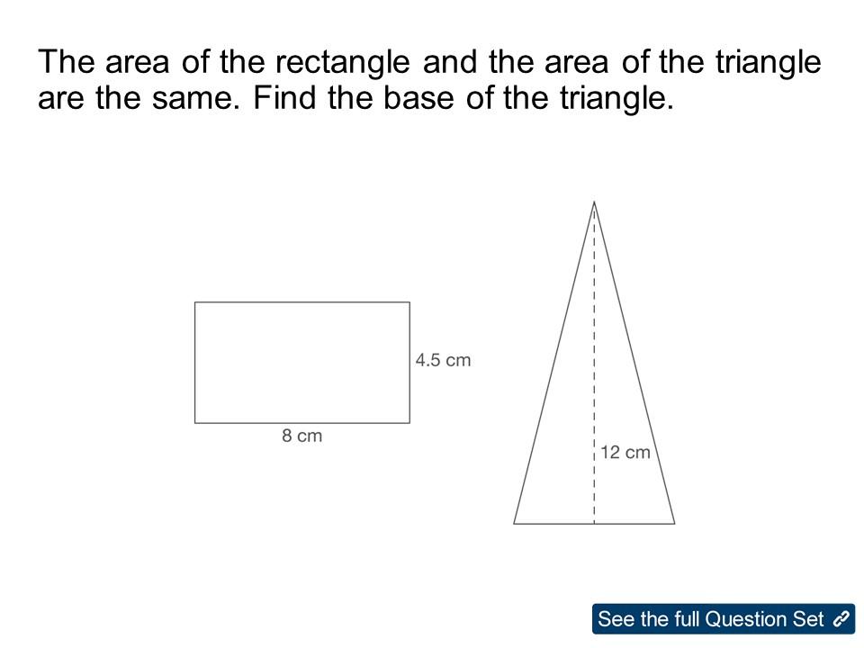GCSE Maths: Problem Solving Foundation Questions