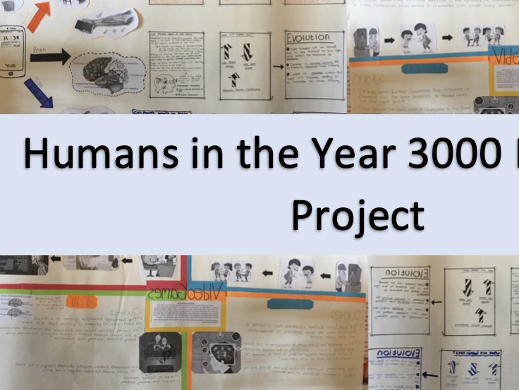 Humans in the Year 3000 Evolution Project
