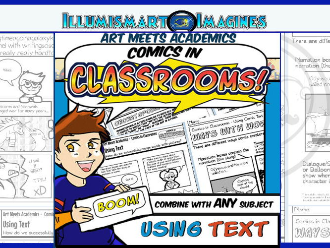 Comics in Classrooms Lesson: Using Comic Book Onomatopoeia and Text