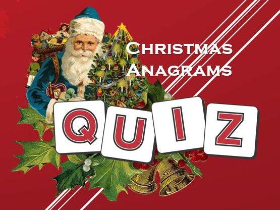 Christmas 2017: Christmas Anagrams