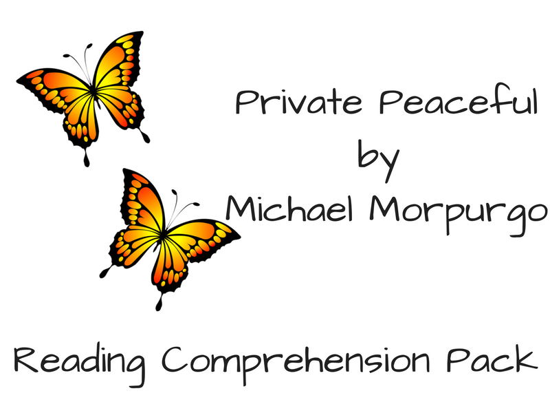 Private Peaceful - Reading Comprehension