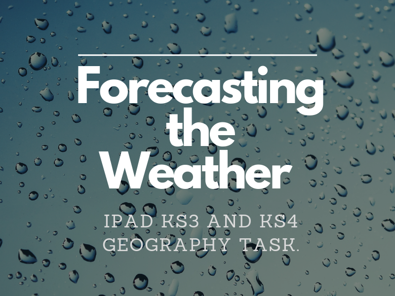 Identify seasonal and daily weather patterns - Forecasting the Weather