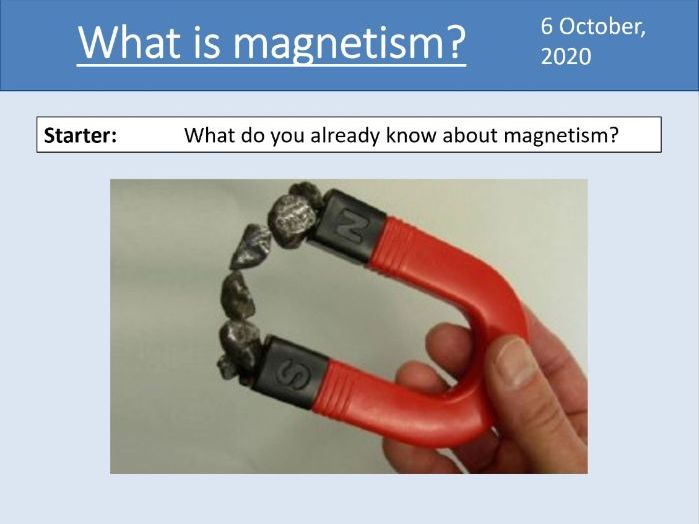 GCSE Physics - Magnetism & Electromagnetism - Unit 7.1 (AQA 9-1)