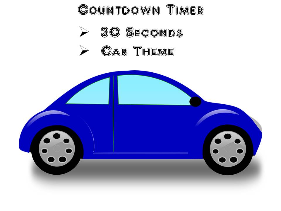 Countdown Timer 30 Seconds