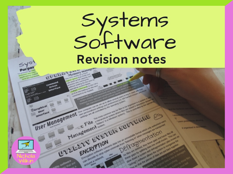 Systems Software Revision Knowledge Organiser
