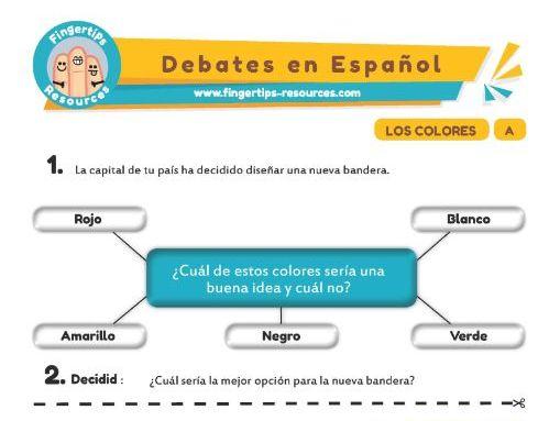 Colores - Debates in Spanish