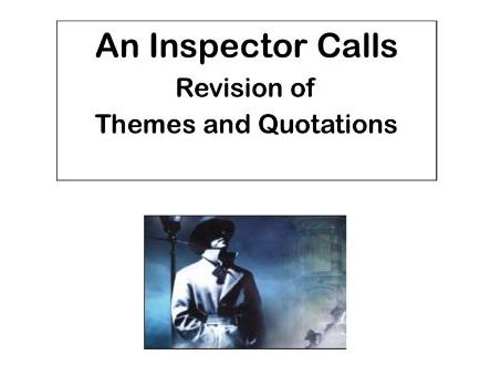 AQA An Inspector Calls:  Theme of Age