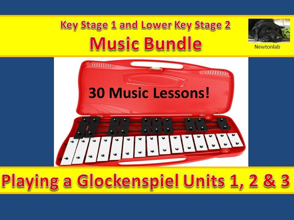 Playing a Glockenspiel Units 1, 2 & 3-Key Stage 1 and Lower Key Stage 2