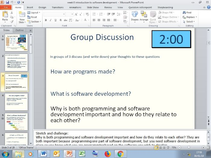 Software development & Programming (C#)