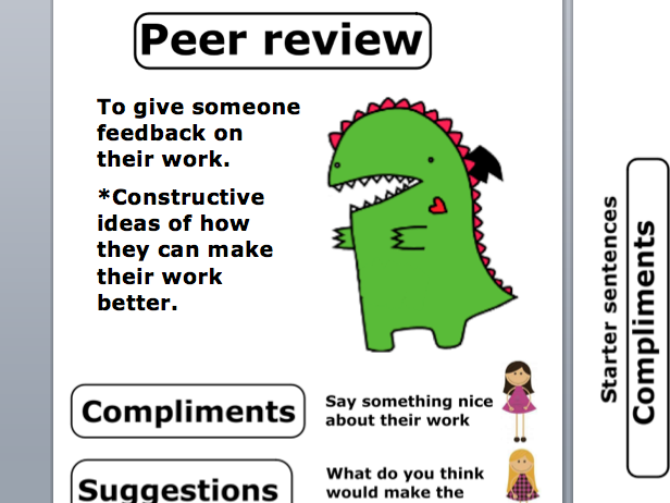 Peer review guidance poster