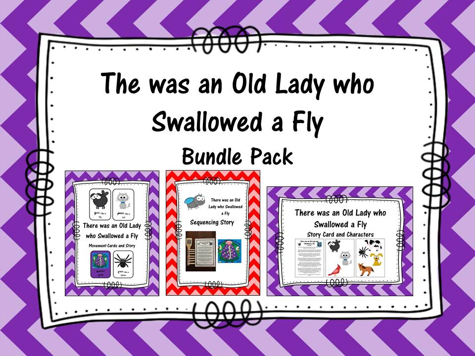 There was an old lady who swallowed a fly Bundle Pack