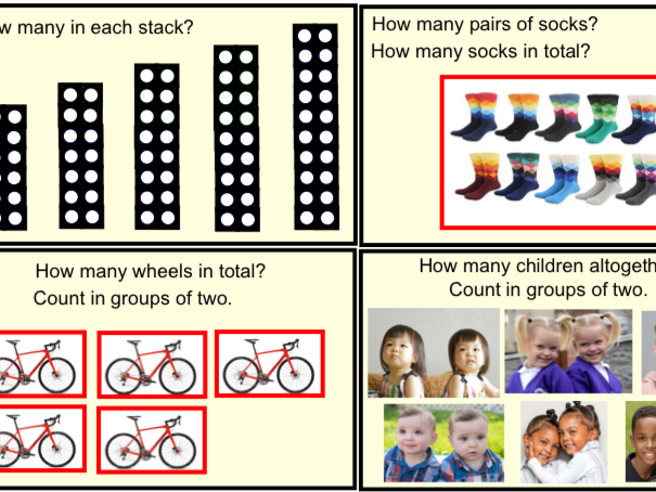Year 1 Multiplication & Division - Counting in 2's (pdf)