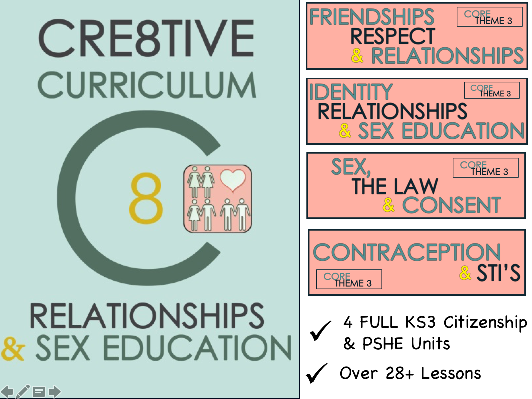 PSHE Audit and RSE SEX Education for KS3