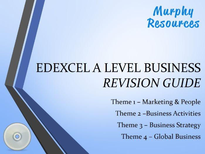 Edexcel A Level Business Revision (Sample)