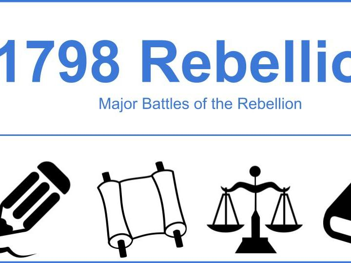 Major Events of the 1798 Rebellion