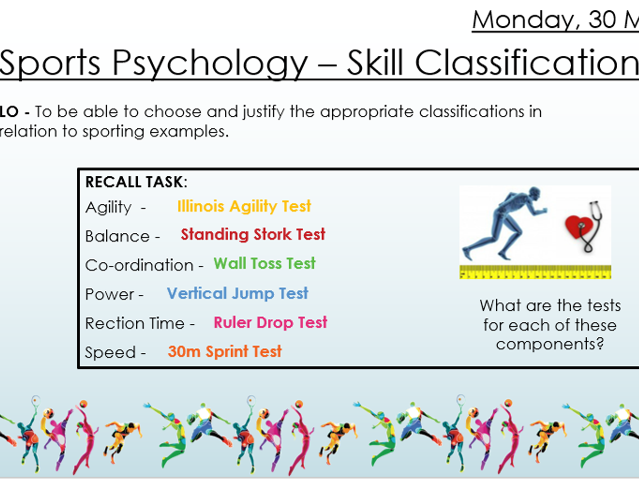 AQA 9 -1 AQA Skill Classification Lesson