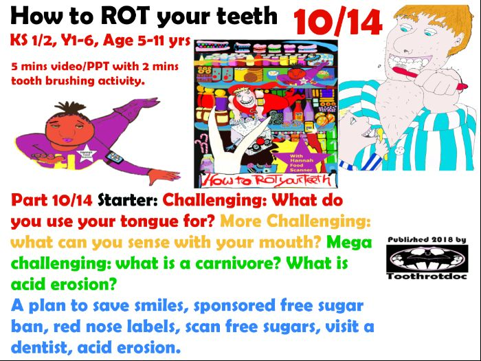 Teeth! 10/14 A plan to save smiles, sponsored free sugar ban, red nose labels, scan free sugars,