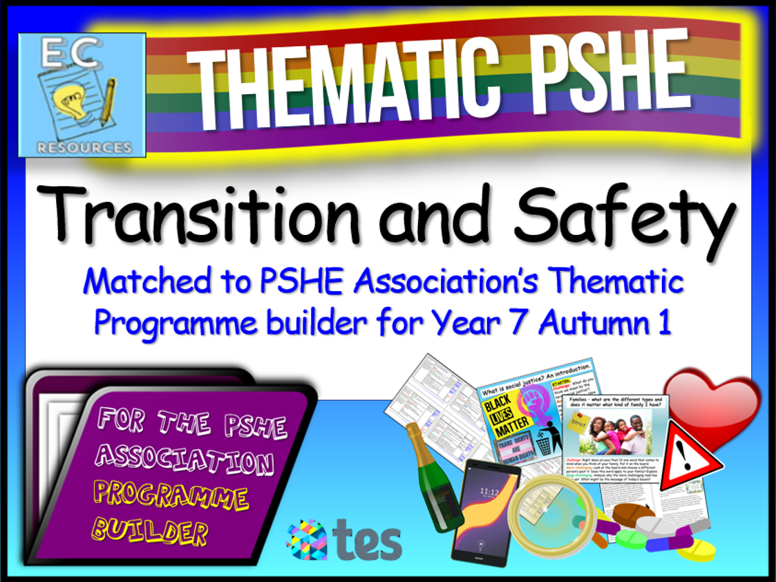 Thematic PSHE Transition and Safety