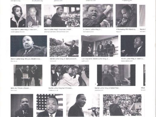 Martin Luther King  (1929- 1968)   Martin Luther King Day  3rd Monday in January