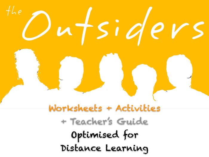 The Outsiders (S. E. Hinton) - Ch. 8-9 - Conflict - NO PREP ACTIVITIES + ANSWERS