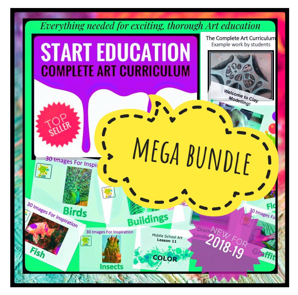 Art. Complete Art Curriculum Mega Bundle