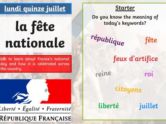 Bastille Day (Fête nationale - 14 Juillet)