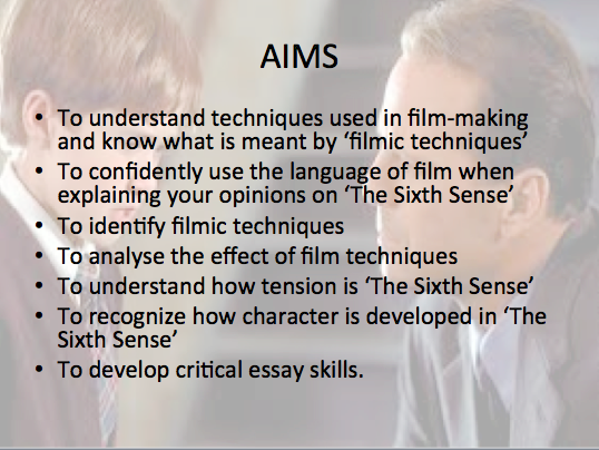 the sixth sense film study by gemand teaching resources tes  the sixth sense film study by gemand teaching resources tes