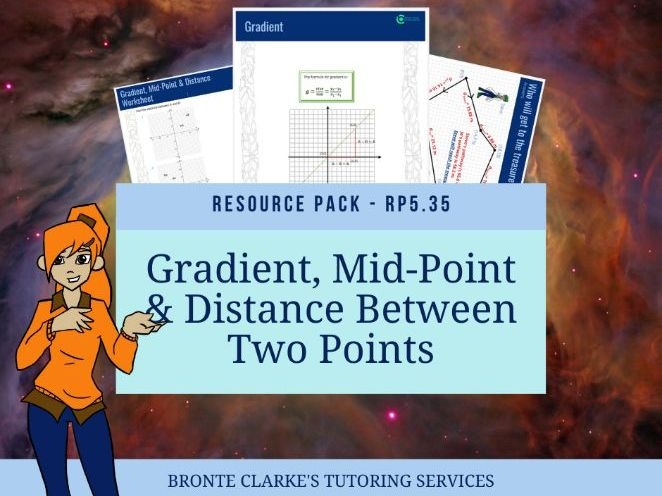 Gradient, Mid-Point & Distance Yr9/10 Pack