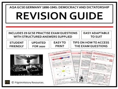 Germany Democracy and Dictatorship Revision Guide