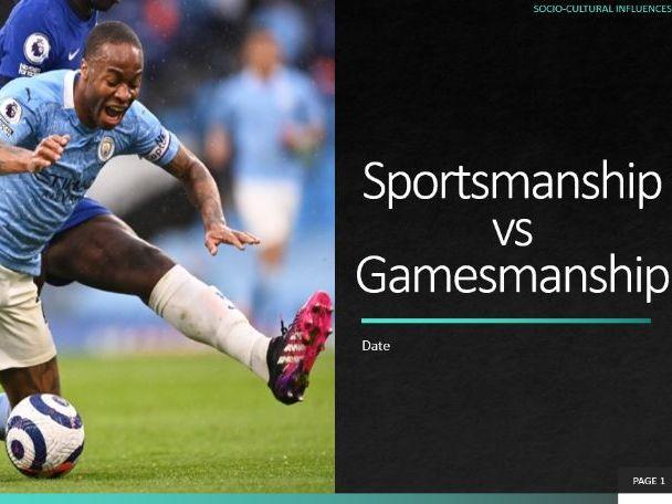 6. Sportsmanship vs Gamesmanship