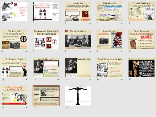 9-1 Weimar and Nazi Germany: Nazis and the Church