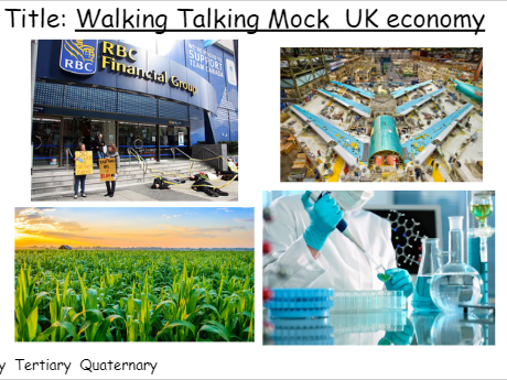 Economic Futures in the UK - Assessment and Walking Talking Mock
