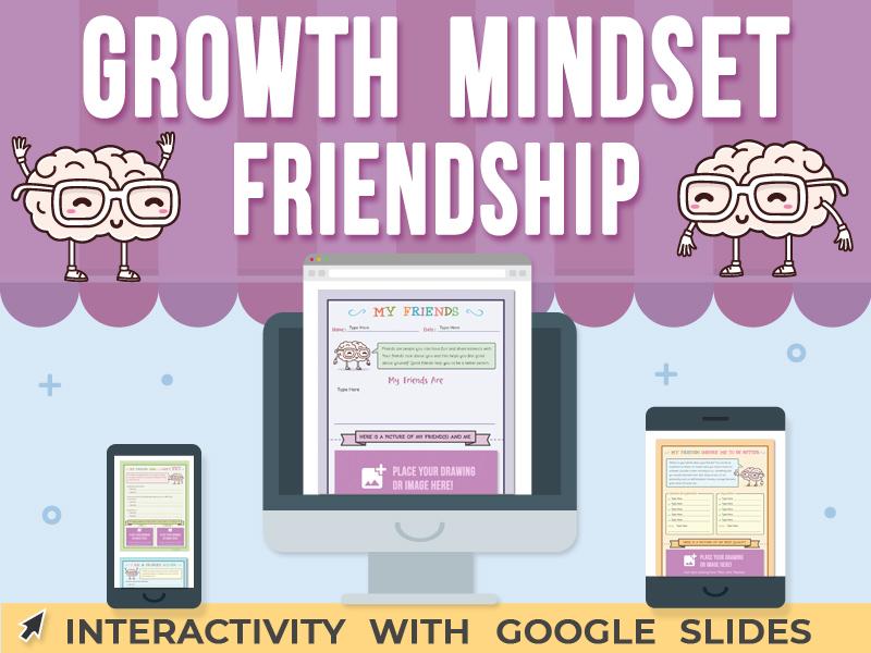 Growth Mindset - Friendship - Google Slides