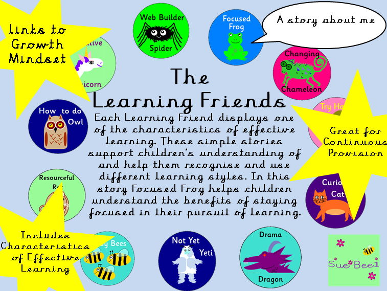 Characteristics of Effective Learning - The Story of Focused Frog