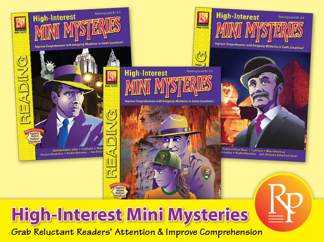 Mystery Unit: High-Interest Mysteries {Bundle}