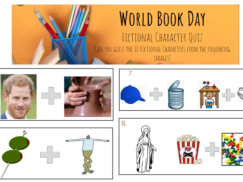 World Book Day Character Quiz