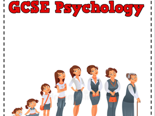 GCSE Psychology Development 80  page activity booklet OCR New Spec 9-1