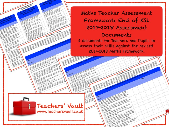Maths Teacher Assessment Framework End of KS1 2017-2018 Assessment Documents