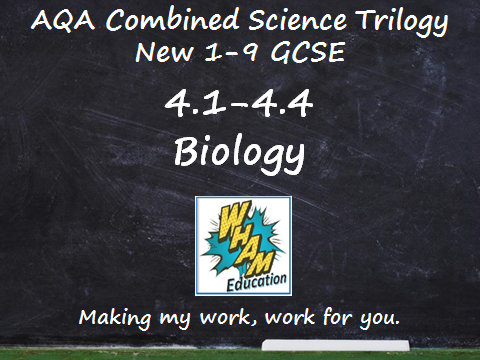 AQA Combined Science Trilogy: 4.1-4.4 Biology Quiz