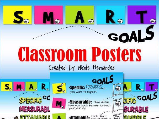 SMART Goals Classroom Posters