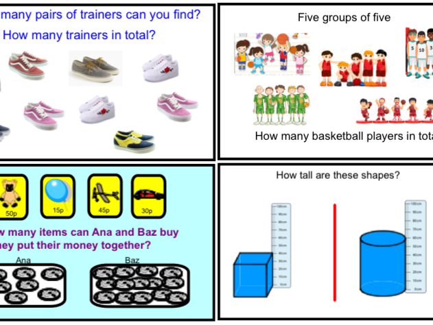 Year 1 Counting in 2's, 5's and 10's (Smartbook)